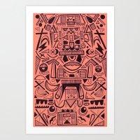 Figurate Art Print