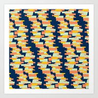 BP 62 Rectangle Stripes Art Print