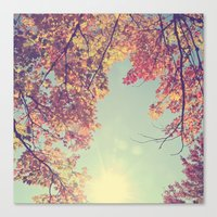 I fell in love with Fall Canvas Print