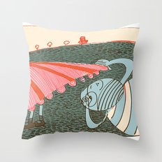 lust Throw Pillow