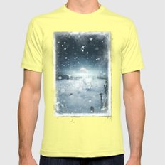 When She Turned On Me Mens Fitted Tee Lemon SMALL