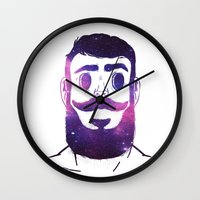 Stargazer | VACANCY Wall Clock