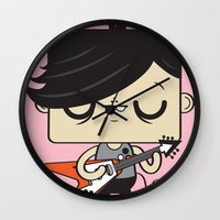 Love Song Part I Wall Clock