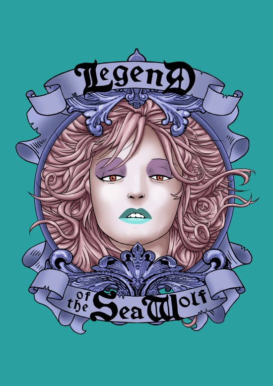 Legend of the Sea Wolf (alt-colour) Art Print