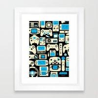 AXOR Heroes - Love For Games Duotone Framed Art Print