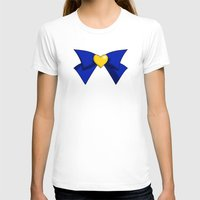Super Sailor Venus Womens Fitted Tee White SMALL