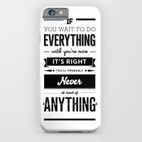 Follow Your Heart's Desire iPhone 6 Slim Case