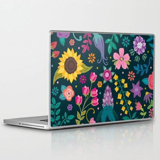 Floral Heart Laptop & iPad Skin
