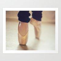 Ballet Shoes II Art Print