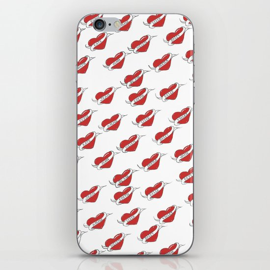 A Sailor's Love Interest (red) iPhone & iPod Skin