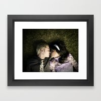 Coupling Framed Art Print