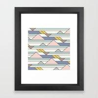 The New Geometric Framed Art Print