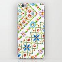Millefiori Floral Lattice iPhone & iPod Skin