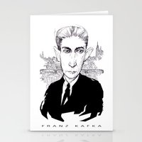 Franz Kafka Stationery Cards