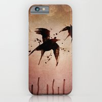 iPhone & iPod Case featuring On your fears,  ... swallow them.   by Gareth Johnson
