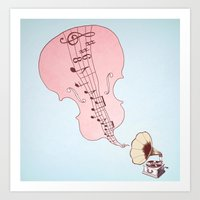 musical moment II  Art Print