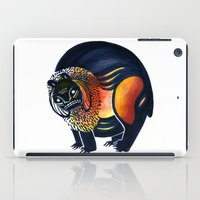 Angry Lion iPad Case