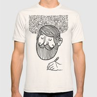 the artist Mens Fitted Tee Natural SMALL