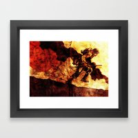 WHF Goes To War Framed Art Print