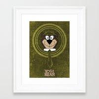 Yogi Time. Framed Art Print