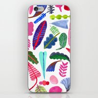 Colorful Plants iPhone & iPod Skin