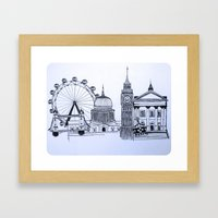 You sound like you're from London Framed Art Print