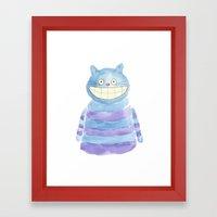 The Cheshire Framed Art Print