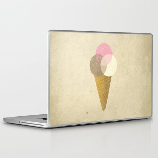 Ice Cream Venndor Laptop & iPad Skin