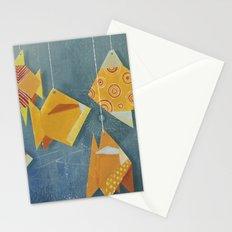 Clovis sleeping with fish Stationery Cards