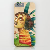 iPhone & iPod Case featuring FALLING LEAVES by busymockingbird