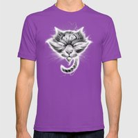 Kwietosh (9) Mens Fitted Tee Ultraviolet SMALL