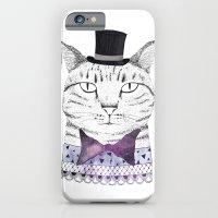 iPhone & iPod Case featuring MR. CAT by missmalagata