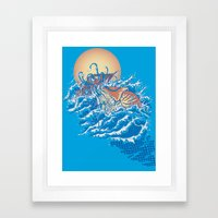 The Lost Adventures Of C… Framed Art Print