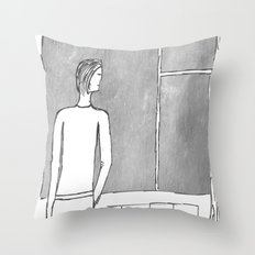 With or without you... Throw Pillow