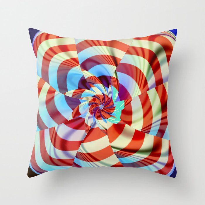red white and blue throw pillow by deborah benoit society6