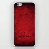 God is Love iPhone & iPod Skin