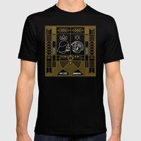 Galactic Balance  Mens Fitted Tee Black SMALL