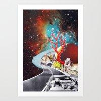 Where the Road Takes Us Art Print