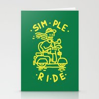 Simple Ride Stationery Cards