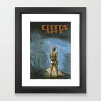 Ender's Game Framed Art Print