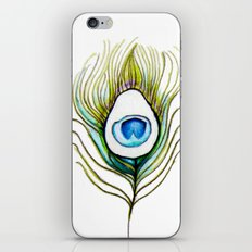 Peacock Feather iPhone & iPod Skin