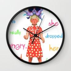 Angryocto - Sara's Candy Wall Clock