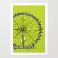 London Town - The Eye Art Print