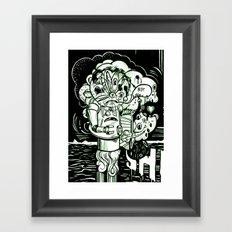 Swears Framed Art Print