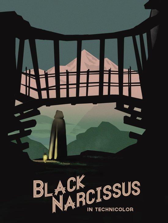 Black Narcissus Art Print