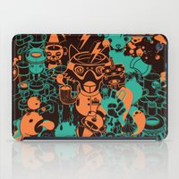 Dream Factory Orange and Blue iPad Case