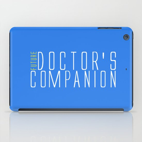 Future Doctor's Companion iPad Case