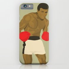 Cool image of a boxer iPhone 6 Slim Case