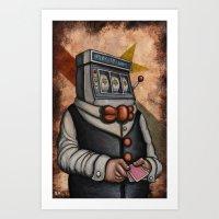 Oyster Mirror Series No.… Art Print