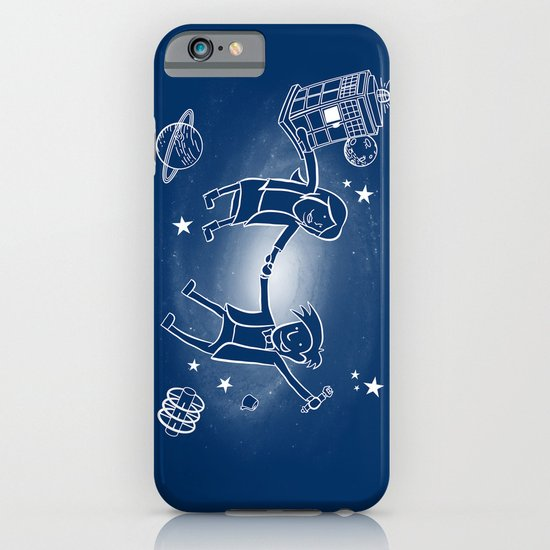 Adventures in Space/Time iPhone & iPod Case